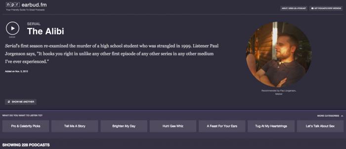 npr-earbud-podcast-concierge-screenshot