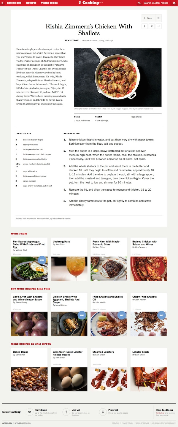 NYT Cooking -