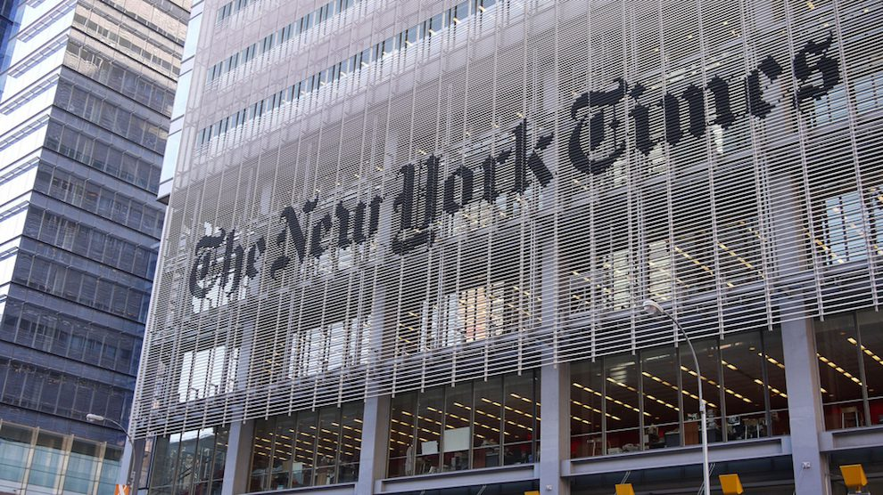 The New York Times Is On Pace To Earn More Than 600 Million In