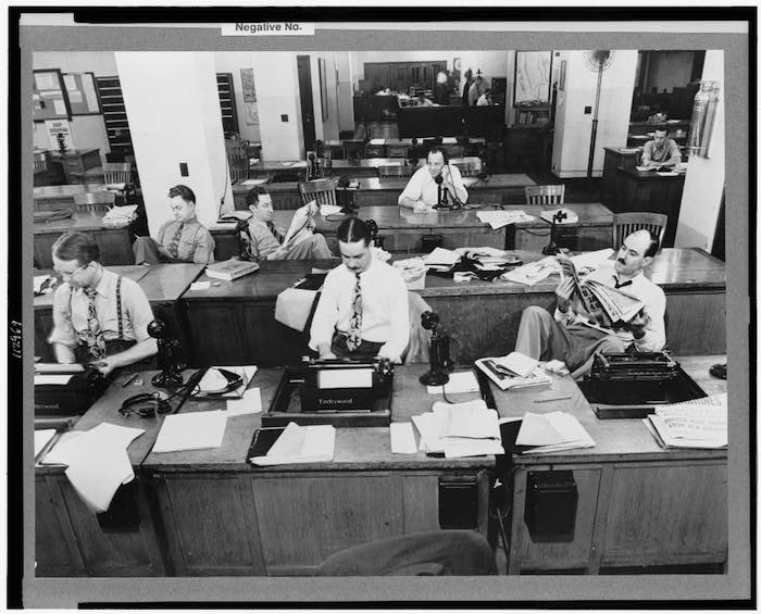 nytimes-newsroom-1942-loc