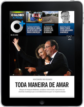Revenge of the afternoon newspaper brazil s o globo sees engagement skyrocket with a magazine - Oglo o ...