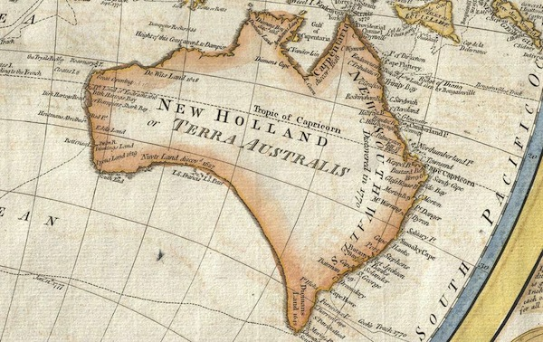 old-australia-map