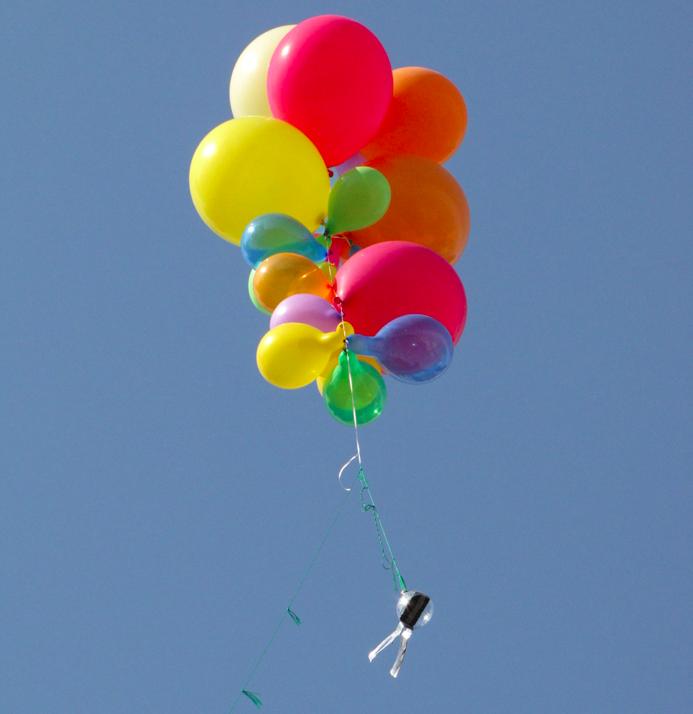 Felipe Heusser's balloon cam