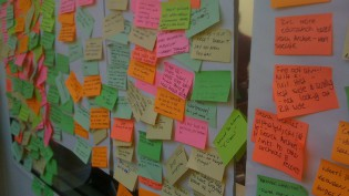 post-its user testing cc