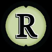 Reporters' Lab stylized 'R' logo