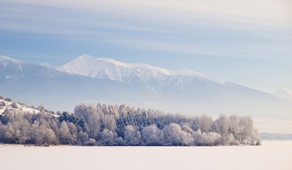 Winter Symmetry in the Cold Morning ~ Liptov, Slovakia