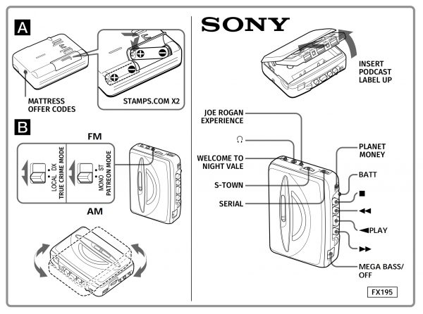 From Walkman to podcast: Sony Music moves into the podcast business, setting the stage for other music companies