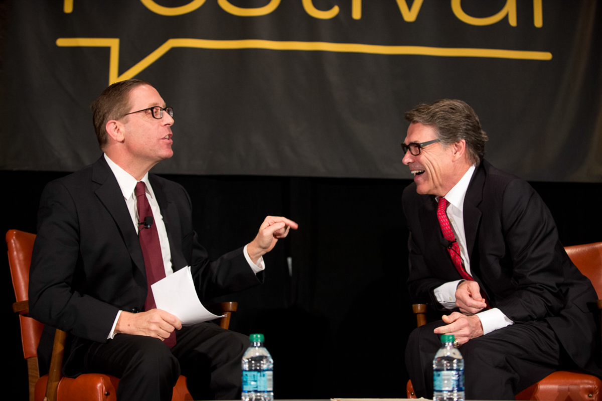 TribFest 2014 Governor Rick Perry