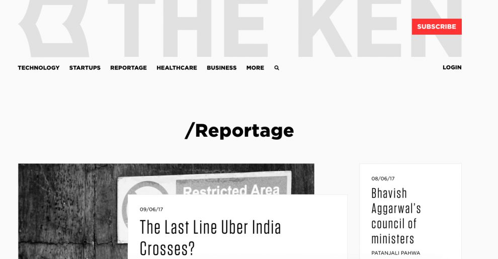 journalism of india