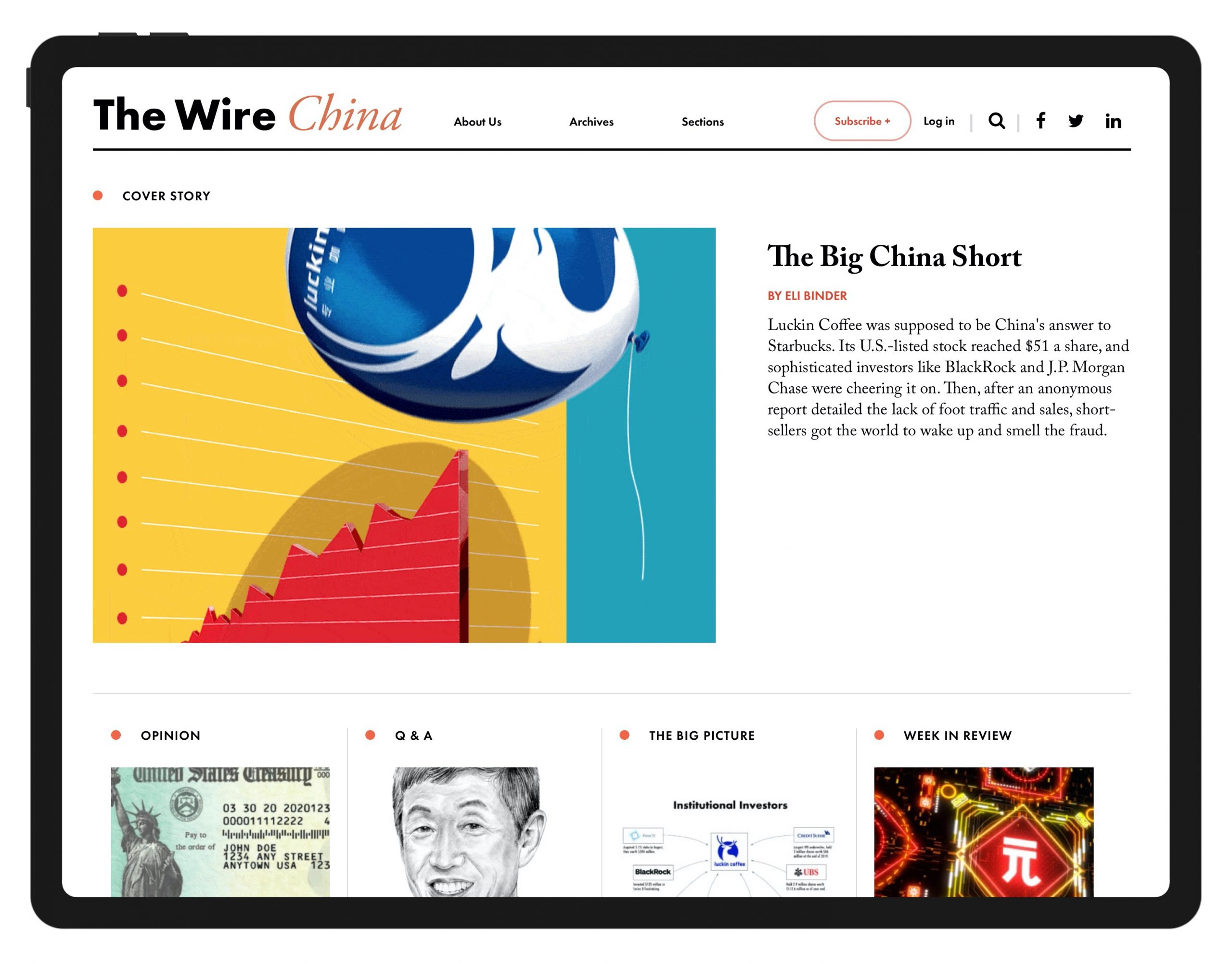 Wire China Is A New Journalism And Data