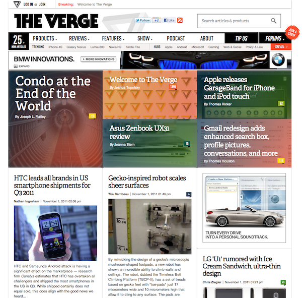 Three lessons news sites can take from the launch of The Verge ...