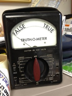 A real live Truth-O-Meter