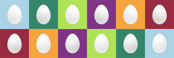 A medley of Twitter eggs