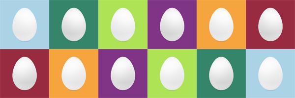 A medley of Twitter eggs