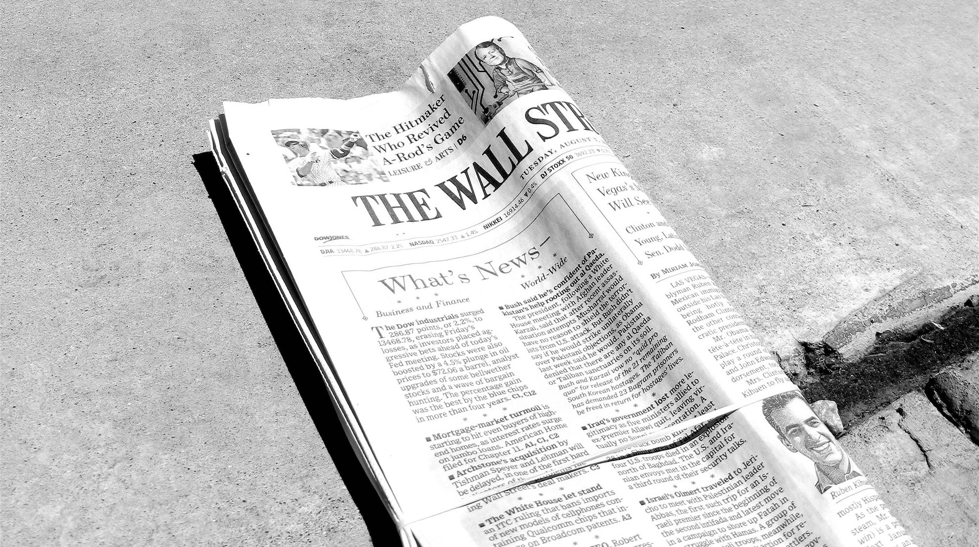 The Wall Street Journal joins The New York Times in the 2 ...