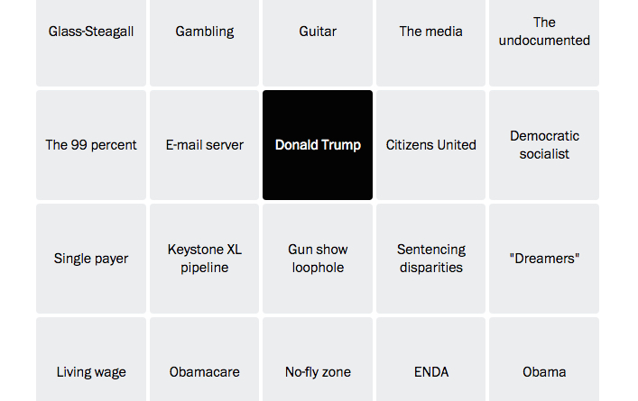 """From bingo games to brackets, The Washington Post is building """"alternative story forms"""""""
