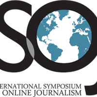 International Symposium on Online Journalism logo